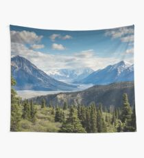 Forest Mountains River National Park Nature Photography Wall Art Wall Tapestry