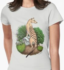 Thylacine Womens Fitted T-Shirt