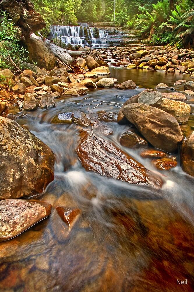 Liffey Cascades 2 by Neil