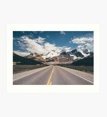 Mountain Vacation Road Trip Art Print