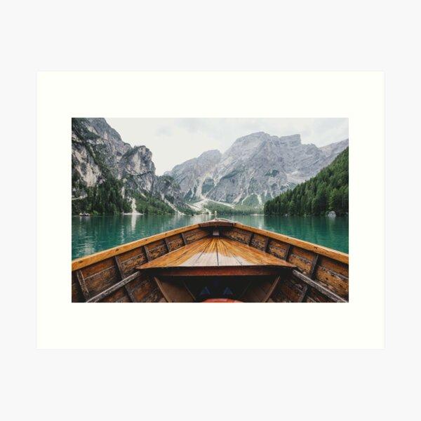 Live the Adventure - Wild and Free Art Print