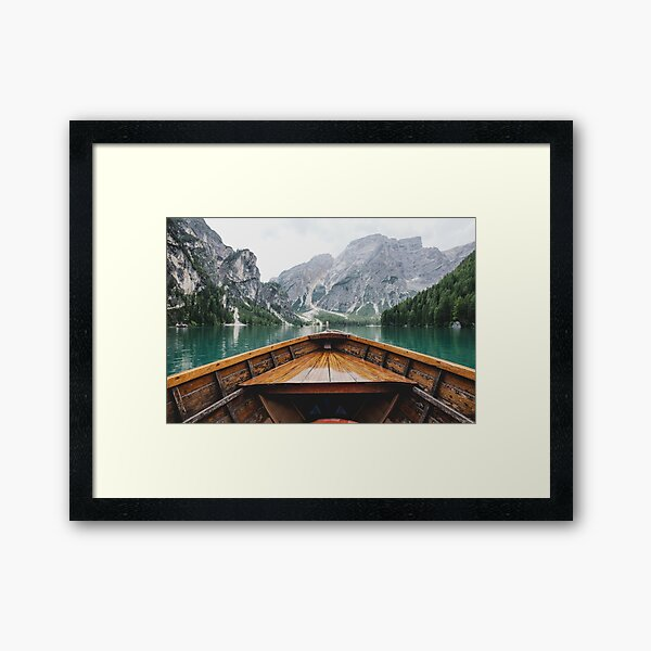 Live the Adventure - Wild and Free Framed Art Print