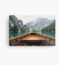 Live the Adventure - Wild and Free Metal Print