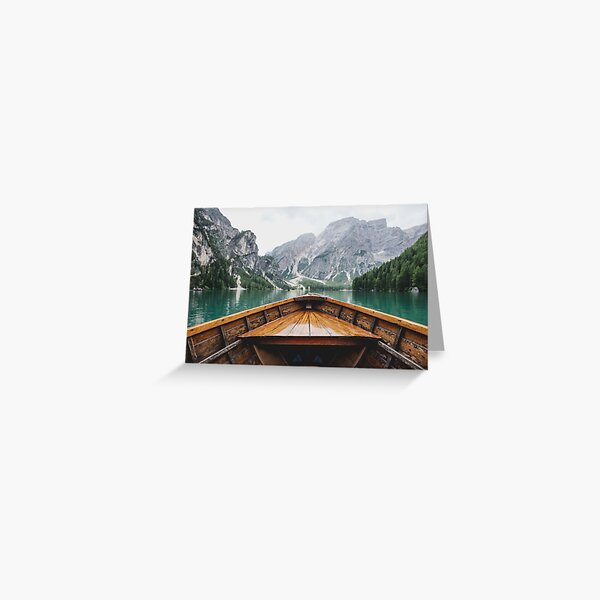 Live the Adventure - Wild and Free Greeting Card