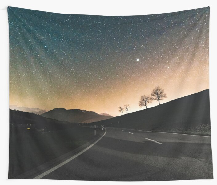 Starry Night Drive by TravelDream