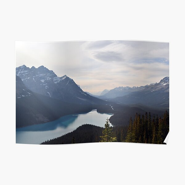 Mountain Lake Forest Dream Poster