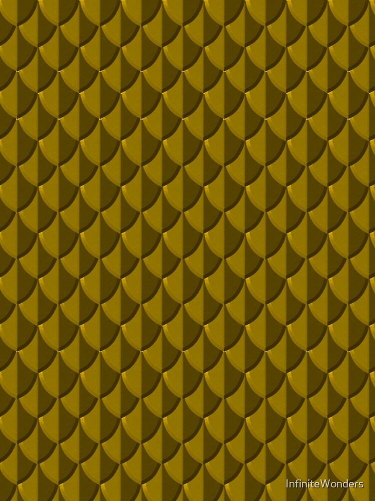 Golden Dragon Scales by InfiniteWonders