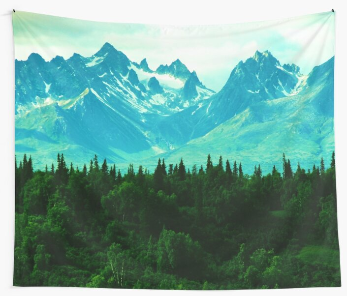Rocky Mountains Forest Dream by TravelDream