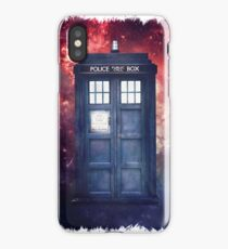 Police Blue Box Tee The Doctor T-Shirt iPhone Case