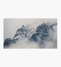 Mountain Clouds Peak Photographic Print