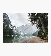 Mountain Lake Hideaway Vacation Nature Photography Photographic Print