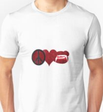 Peace Love & Fangs Unisex T-Shirt