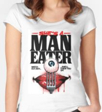 Maneater Women's Fitted Scoop T-Shirt