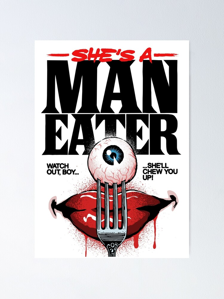 Alternate view of Maneater Poster