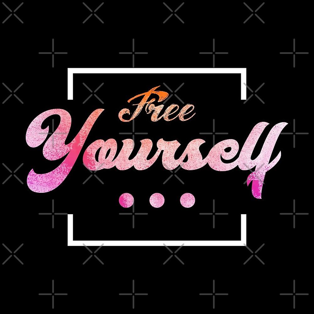 Free Yourself Typography 1 by Daniel Ward