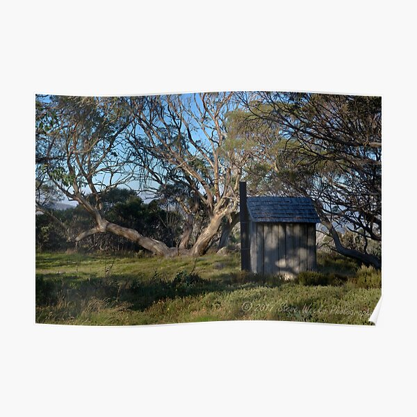 Wallace Hut dunny Poster