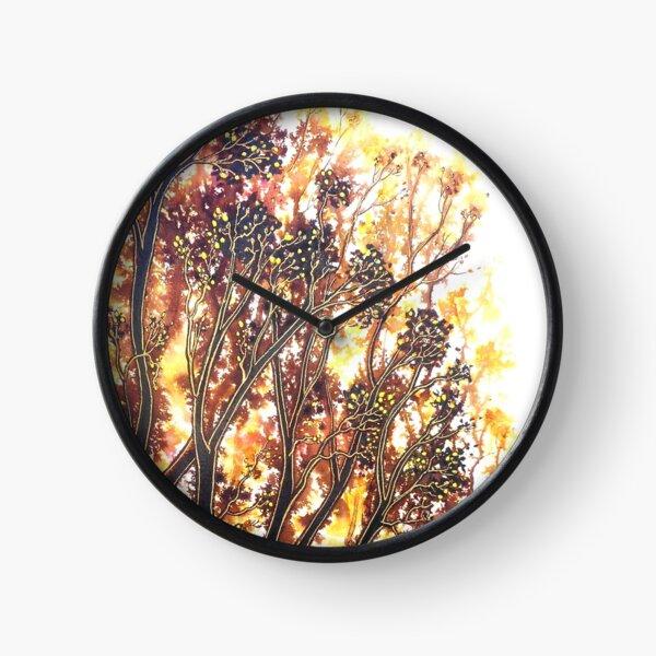 Autumn Begins - Trees Clock
