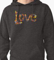 Flower Power- Love Pullover Hoodie