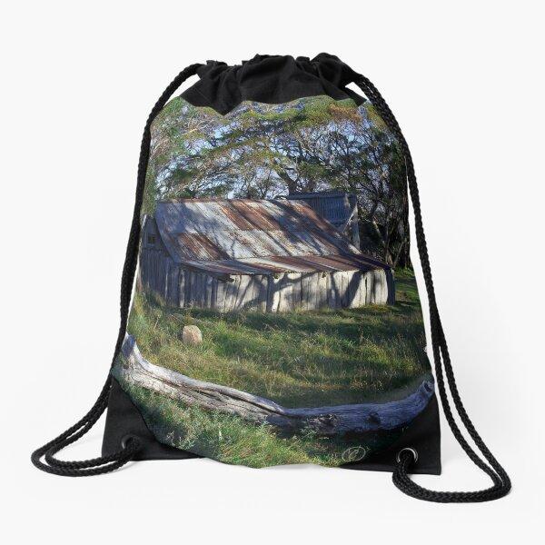 Wallace Hut Drawstring Bag