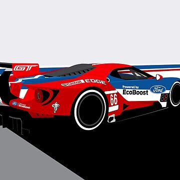 Ford GTLM: Daytona by RLineDesigns