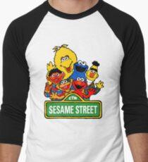 Sesame Street Men's Baseball ¾ T-Shirt