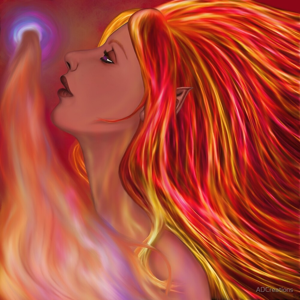 Flame Maiden by ADCreations