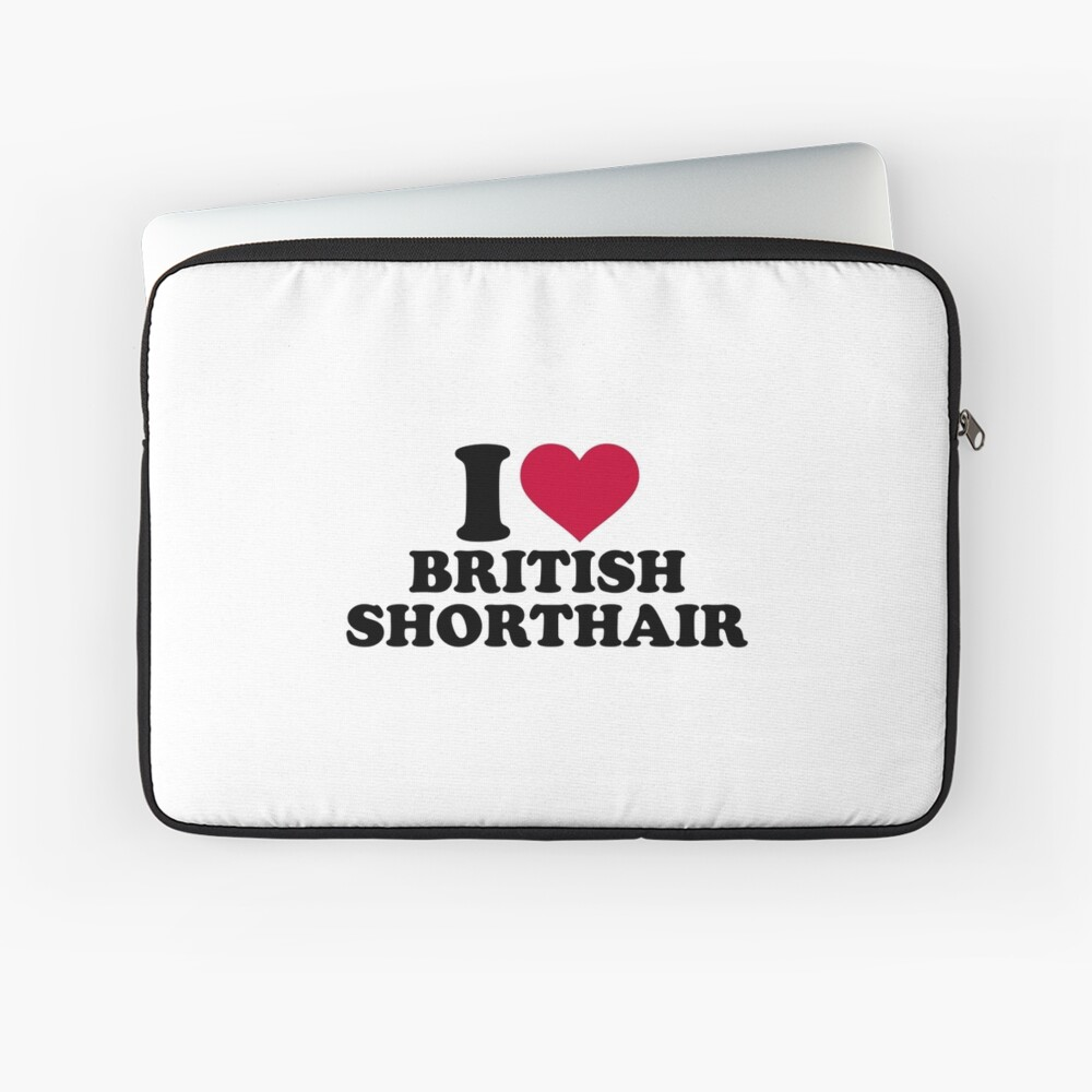 Amo British Shorthair Funda para portátil