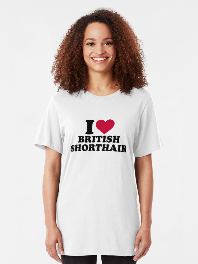 Vista alternativa de Camiseta ajustada Amo British Shorthair