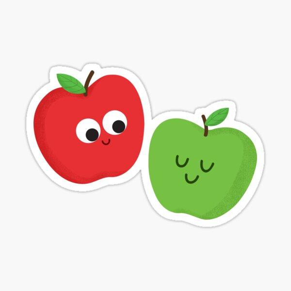 Happy Apples Sticker