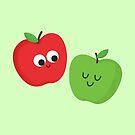 Happy Apples by cartoonbeing