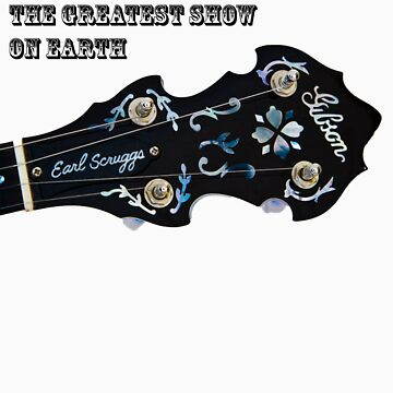 Bluegrass The Greatest Show On Earth - banjo by paultho