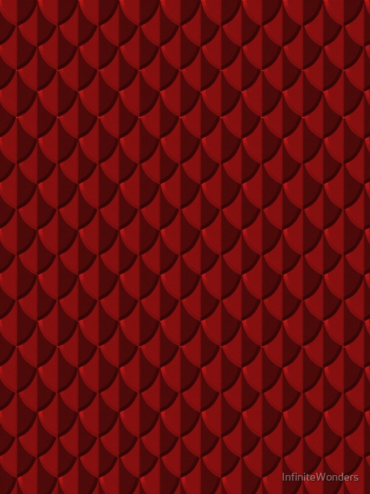 Red Dragon Scales by InfiniteWonders