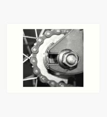 fixed gear Art Print