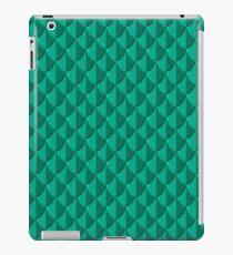 Sea Green Dragon Scales iPad Case/Skin
