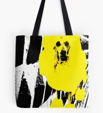 Yellow Poodle Tote Bag