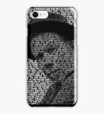 Tom Waits - Come on up to the house iPhone Case/Skin