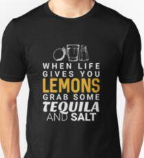 Lemons Tequila and Salt - Funny Saying  Unisex T-Shirt
