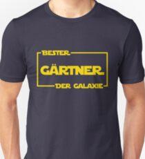 Bester Gärtner der Galaxie Unisex T-Shirt