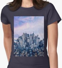 High Upon A Mountain Womens Fitted T-Shirt