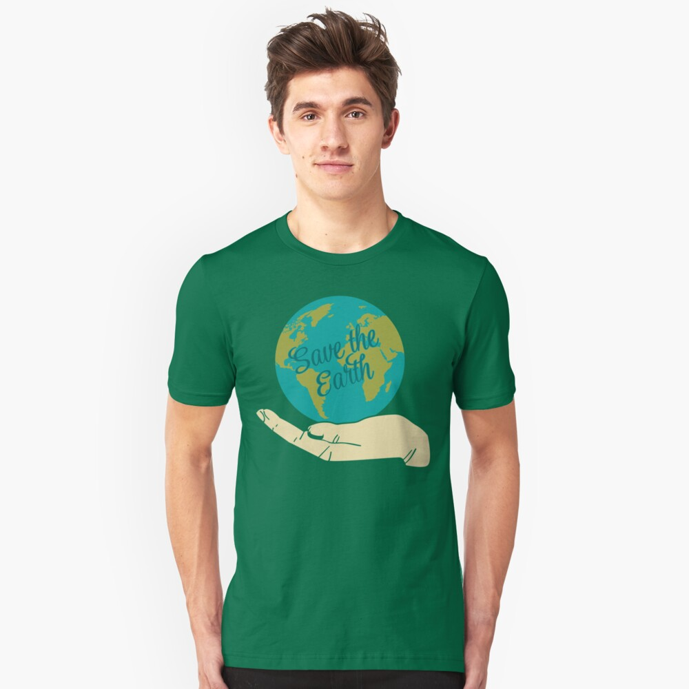 Save The Earth Unisex T-Shirt Front