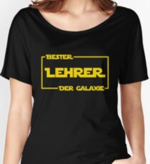 Bester Lehrer der Galaxie Women's Relaxed Fit T-Shirt