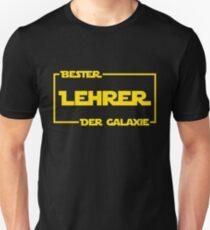 Bester Lehrer der Galaxie Slim Fit T-Shirt