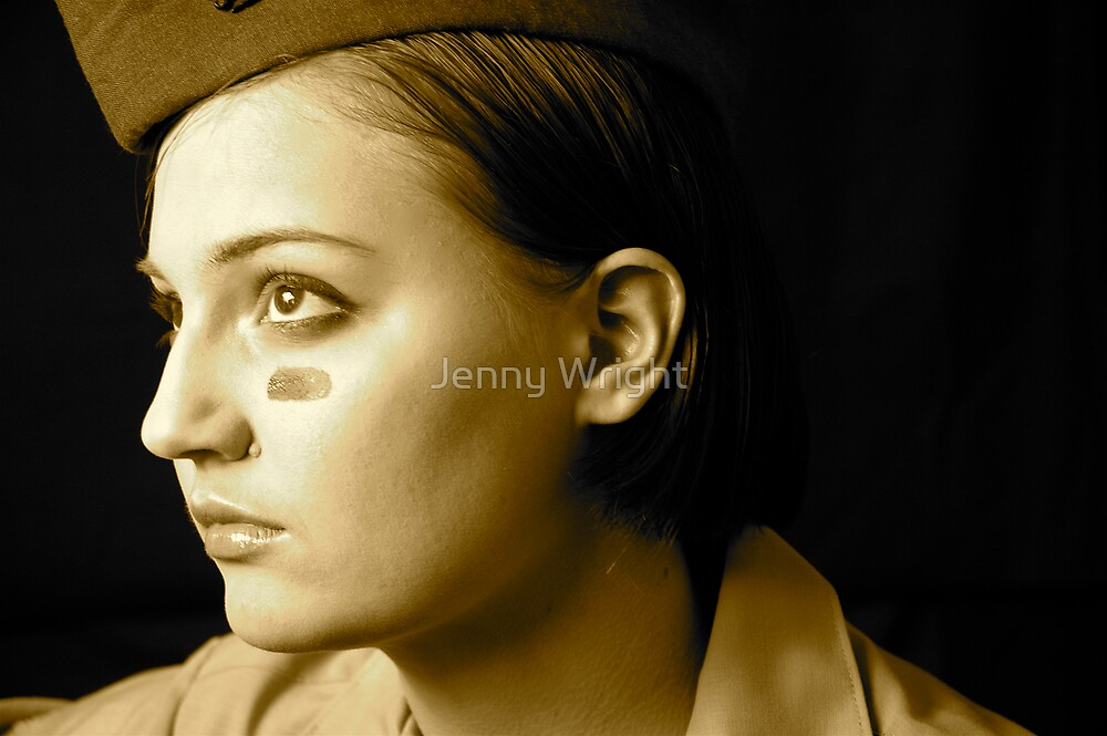 Self Portrait #1 by Jenny Wright