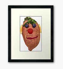 The Veggies - Stewie Stewman Framed Print