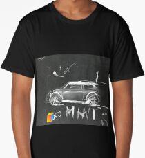 Mini Abstract sketching Long T-Shirt