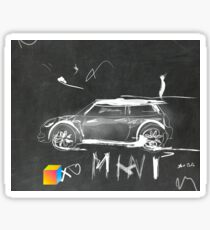 Mini Abstract sketching Sticker