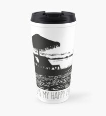 Beach - This is my happy place Travel Mug