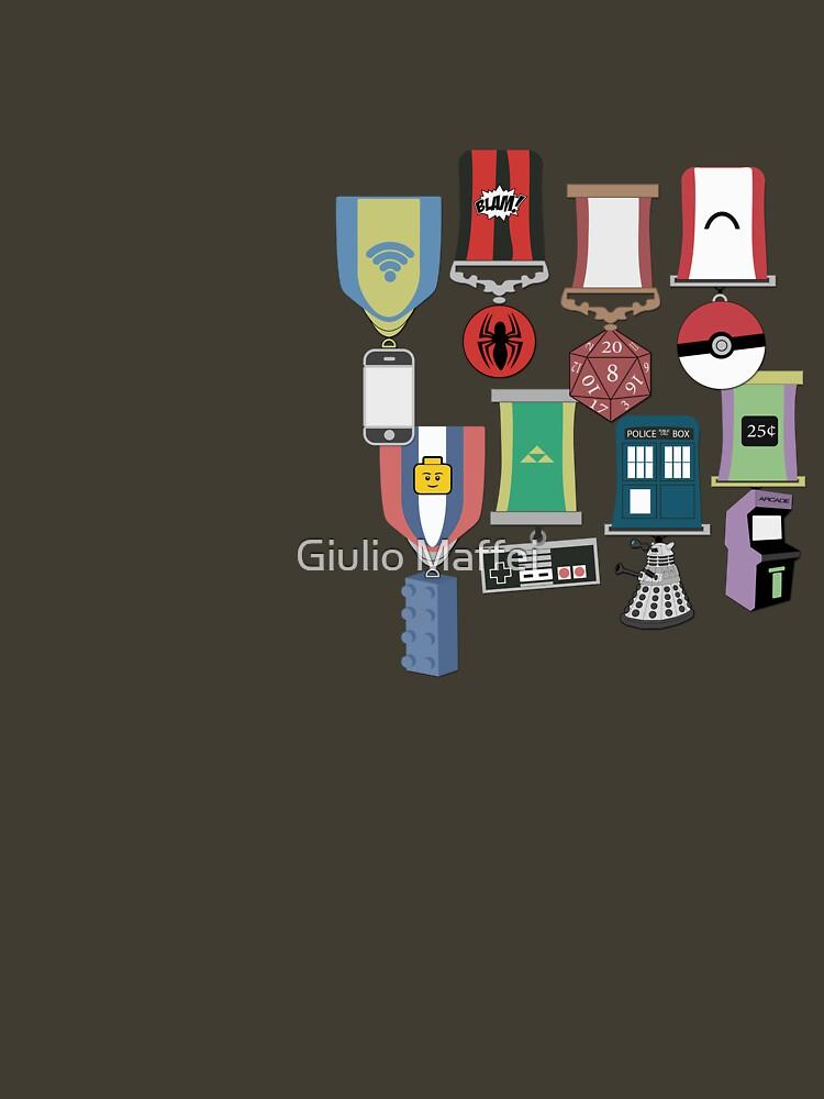 Nerdy Medalss by giuliomaffei90