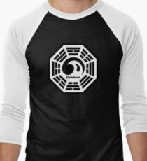 Dharma Initiative Logo (Lost TV Show) Men's Baseball ¾ T-Shirt