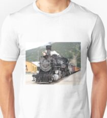 Steam train engine Silverton, Colorado, USA 8 Unisex T-Shirt